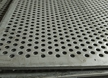 stainless steeel perforated metal