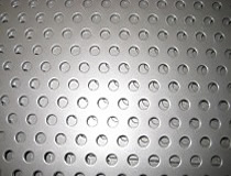 painted perforated metal sheet
